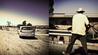 03_schwerunterwegs_afrika2012_marokko_marrakesch_dacia_sandero_essouira_view_donkey
