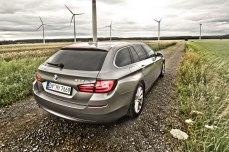 06_BMW_525d_Hertz_Immermannstraße_B87_WIndpark_EfficientDynamics_Kofferraumklappe_Rückleuchten_Lichtleiter