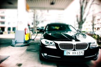 10_BMW_520d_Hertz_Immermannstraße_Tanken_Verbrauch_8Liter_je100km