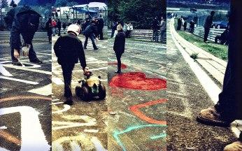 2_24H_Nürburgring_2010_Brünnchen_Streckenkunst_Bobbycar_Herz