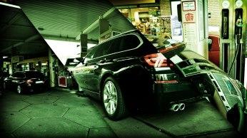BMW525d_Hertz_Immermannstraße_Tanken_ESSO_EfficientDynamics_Diesel_Vierzylinder_Reichweite_1000Kilometer_2