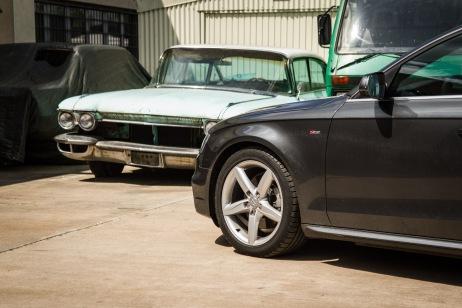 Der Audi A4 macht immer noch die glleiche Figut wie vor 9 Jahren - ob gut oder schlecht, muss jeder selbst herausfinden