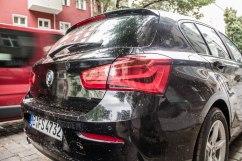 BMW 116i Facelift - Das neue Heckdesign des LCI streckt den 1er optisch in die Breite