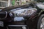 BMW 116i - Mal abgesehen vom billigen Design leuchten die Standard-Halogen Scheinwerfer richtig gut