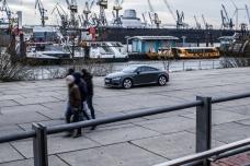 Audi TT Sixt Berlin Treptowers schwerunterwegs Hamburg Hafencity-3