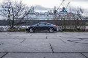 Audi TT Sixt Berlin Treptowers schwerunterwegs Hamburg Hafencity