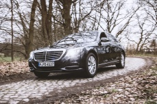 Mercedes-Benz S300h in der Langversion von Sixt rent a car