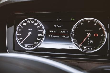 Der gemittelte Verbrauch lag mit einigen schnellen Autobahnetappen bei glatten 8 l Diesel/100 km.